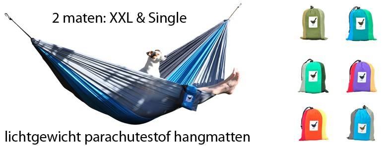 travel hangmatten reishangmat parachutestof
