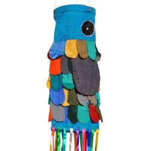 Breeze - kleurrijke windvanger van parachutestof
