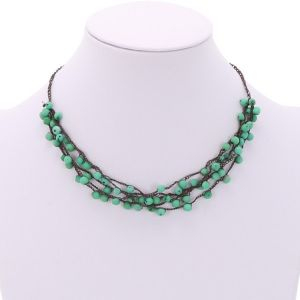 Chirilla necklace - green