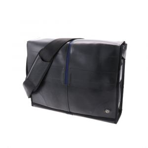 Laptoptas 13.3 inch van autoband ObreroPlus - donkerblauw