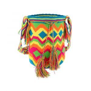 Mochila Wayuu bag - unieke zomerse crossbody tas in ibiza stijl