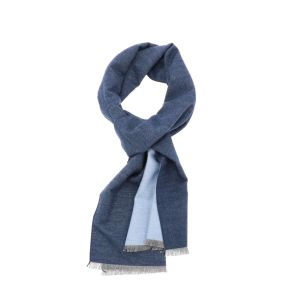 Superzachte sjaal  van bamboe FanXing - blauw