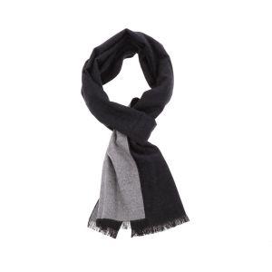 Superzachte sjaal  van bamboe FanXing - zwart/grijs