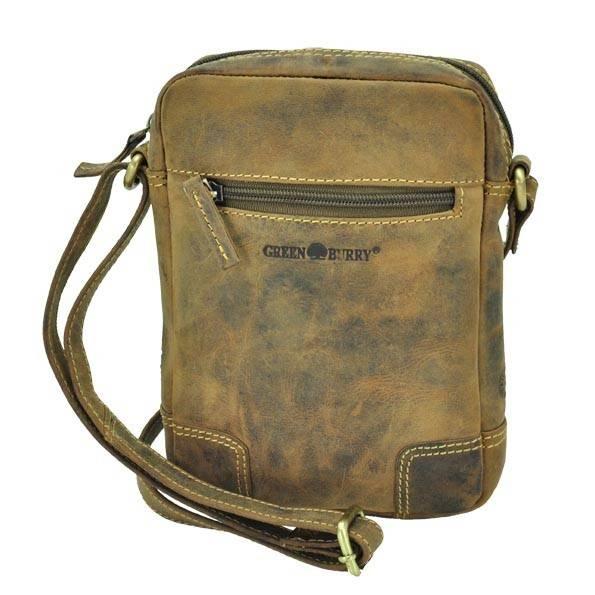 Kleine schoudertas van bruin vintage leer - Utah from MoreThanHip
