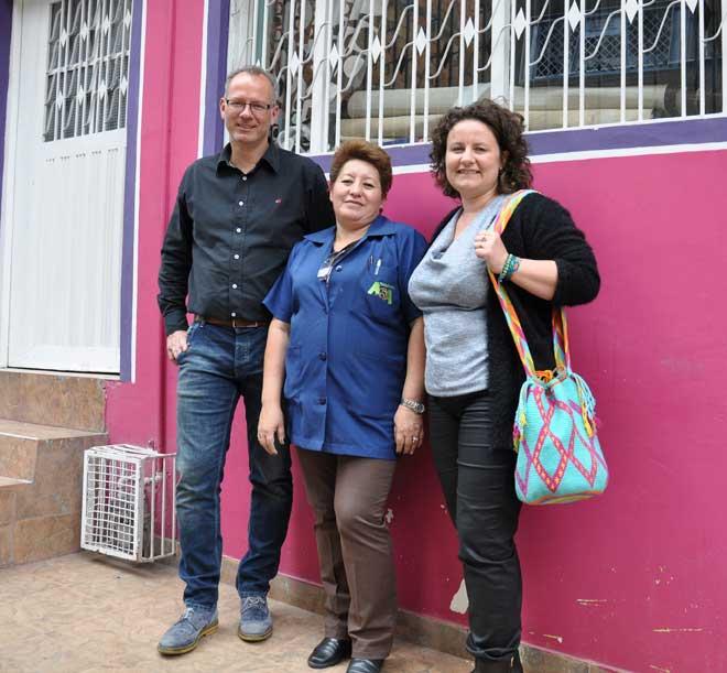Op bezoek bij Doña Rosa in Colombia