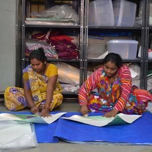 Pardeshi vouwen de Paper Vase Cover