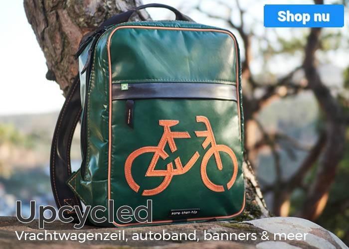 Upcycled tassen en accessoires